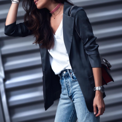 Lucy Hernandez (@lucyswhims) in the Eva Jacket
