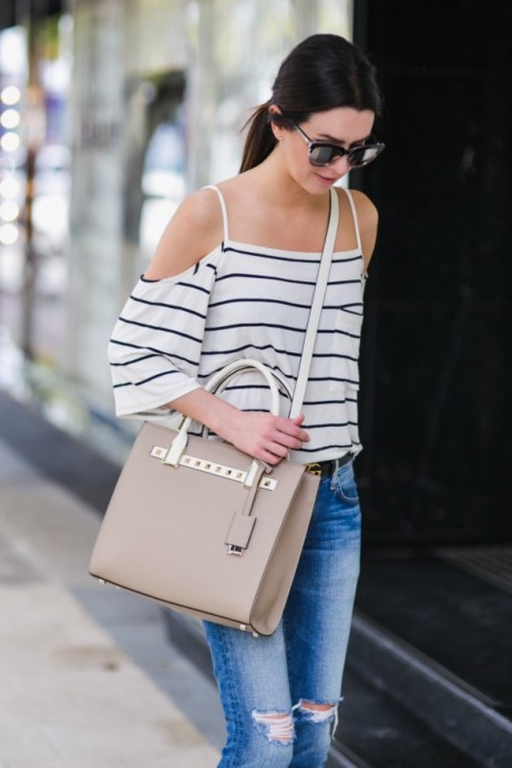 Crystal Berry (@obsessions_now) in the Stripe Half Hitch Top