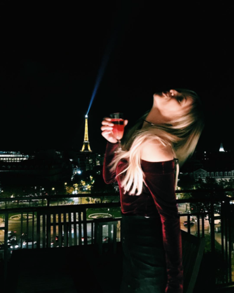 Kelsea Ballerini (@kelseaballerini) in the Veronica Top