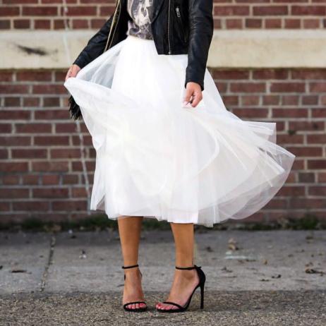 Vanessa Mace (@hattieinheels) in the Pas de Trois Skirt