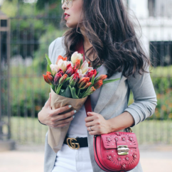 Laura Reynoso (@spanglishfashion) in the Jane Jacket