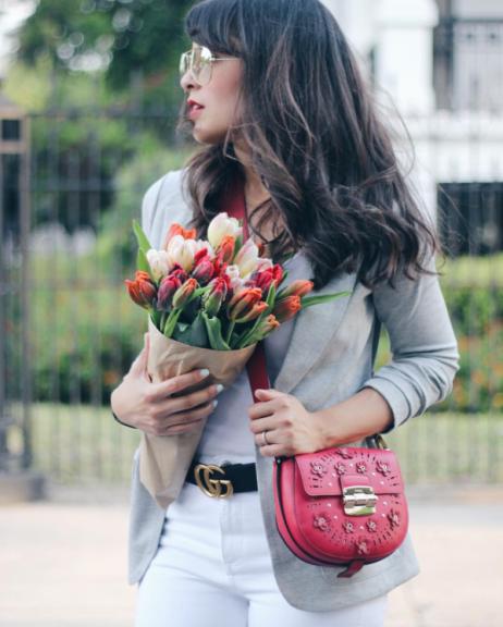 Laura Reynoso (@spanglishfashion) in the Jane Jacket