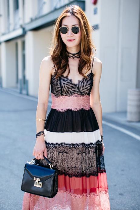 Elizabeth Lee (@stylewichliz) in the Desert Sunset Dress